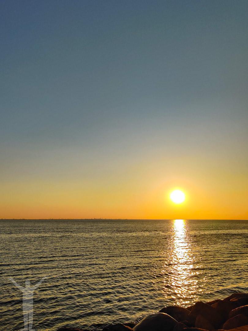 Solnedgång över Öresund
