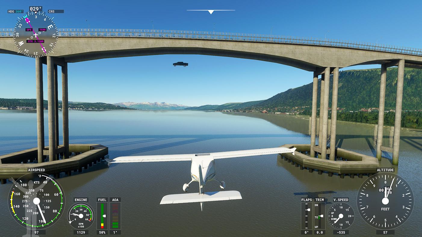 Bron i Tromsö i MSFS