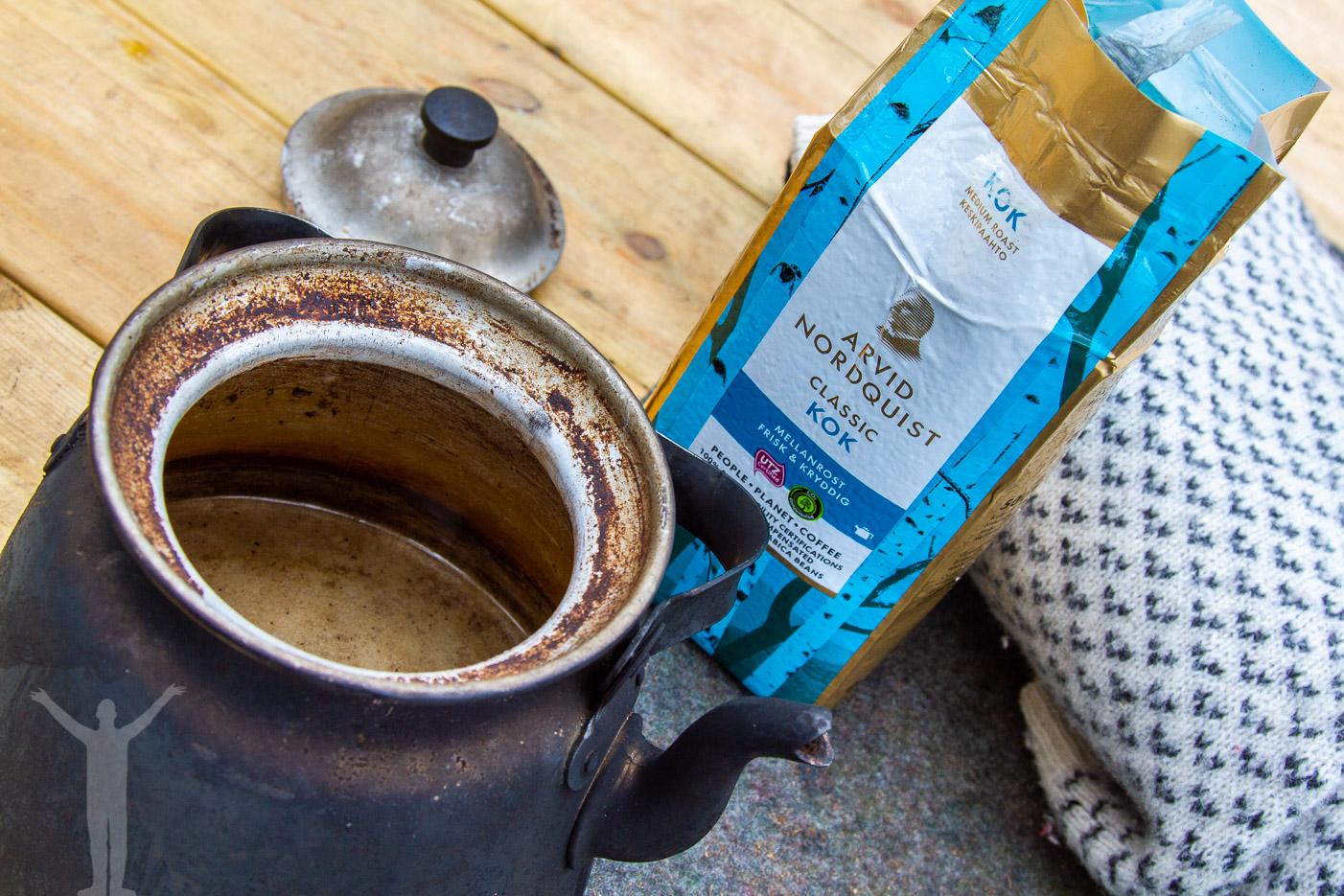 Kokkaffe till kaffekannan