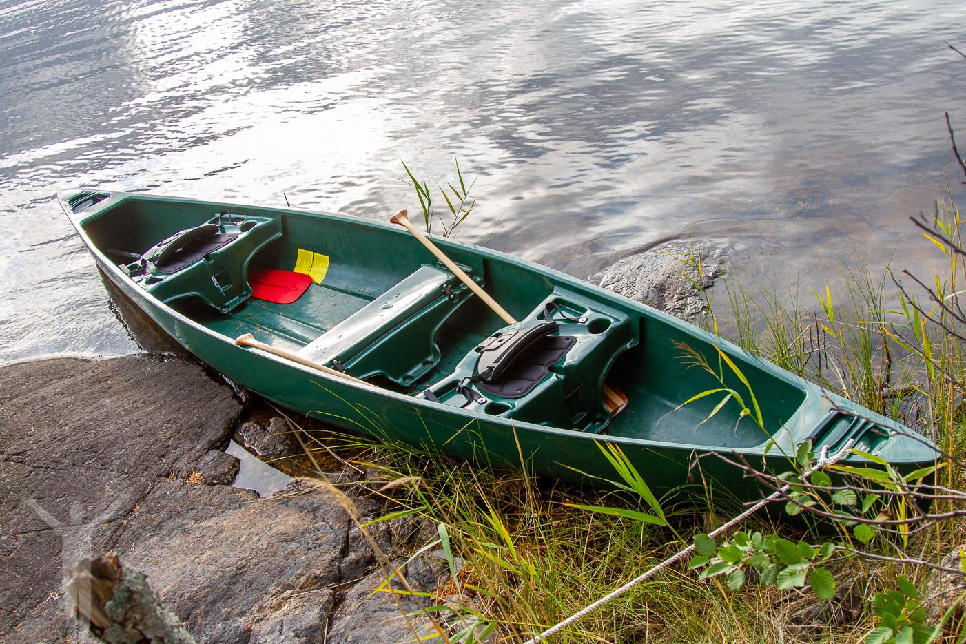 Paddla kanot till Mystyr