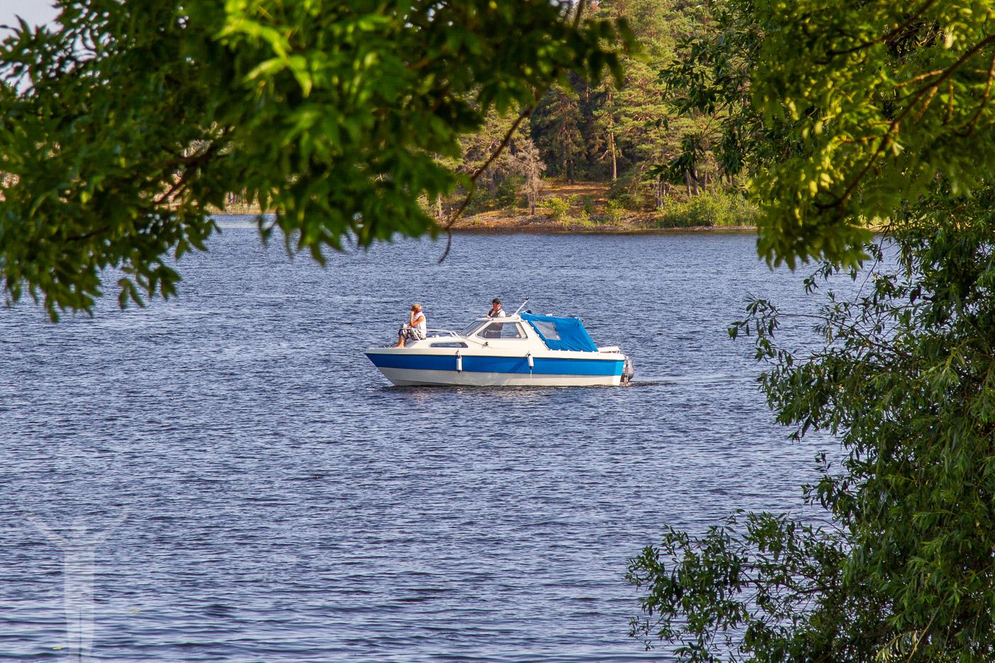 Båt på Dalslands kanal