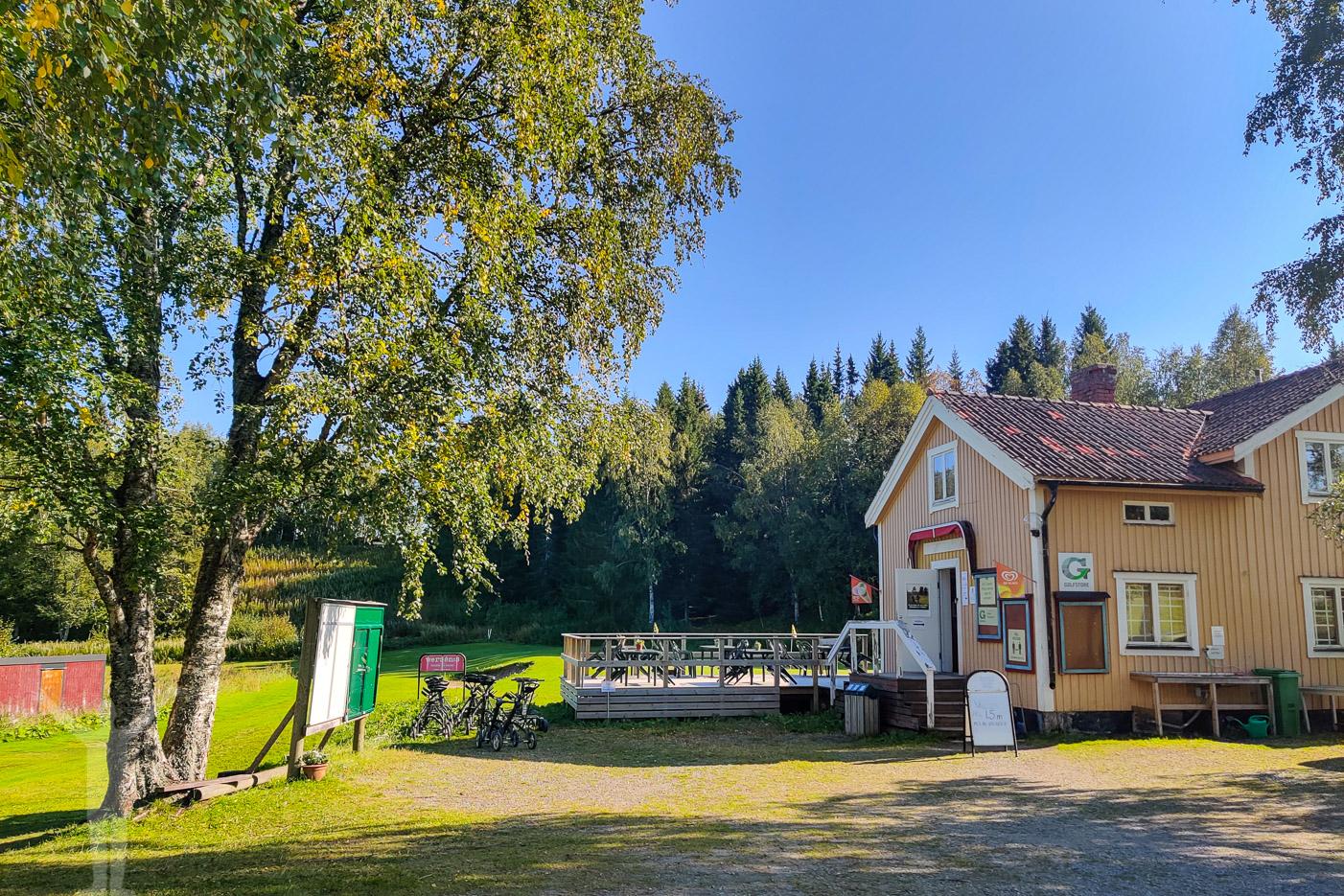 Klubbhuset på Åre Golfklubb