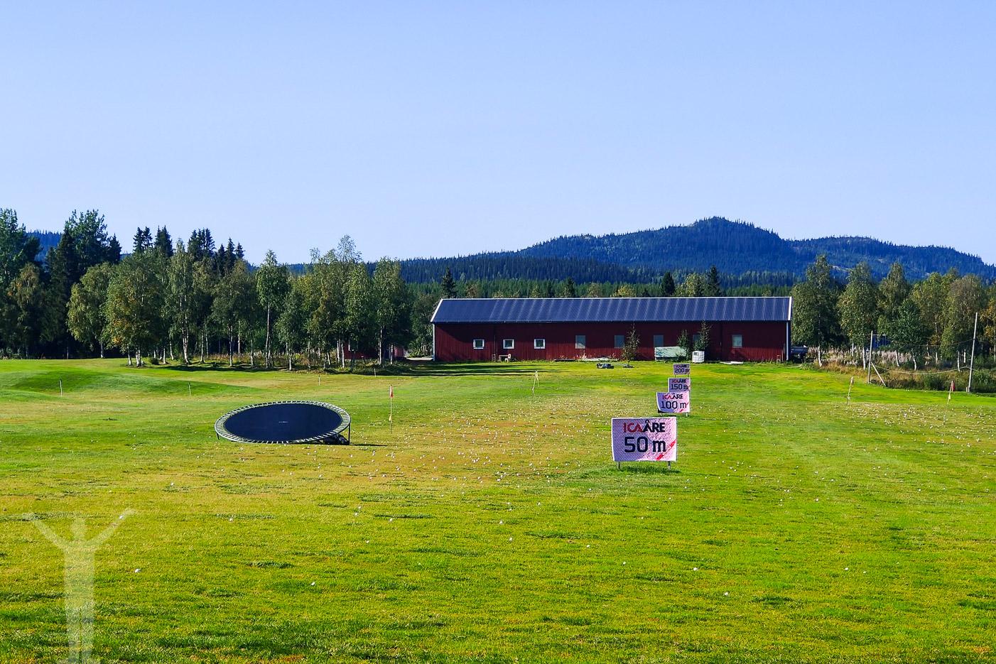 Rangen på Åre Golfklubb