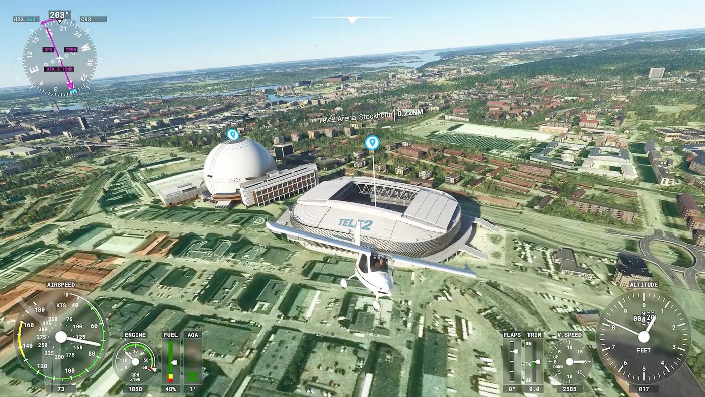 Avicii Arena & Tele2 Arena