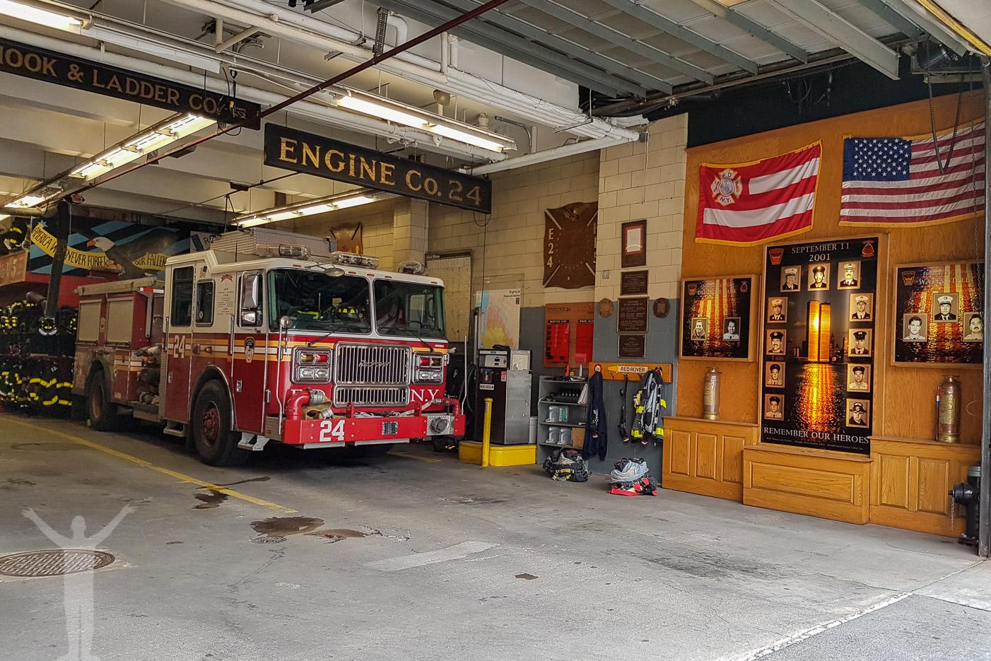 Brandstation på Manhattan