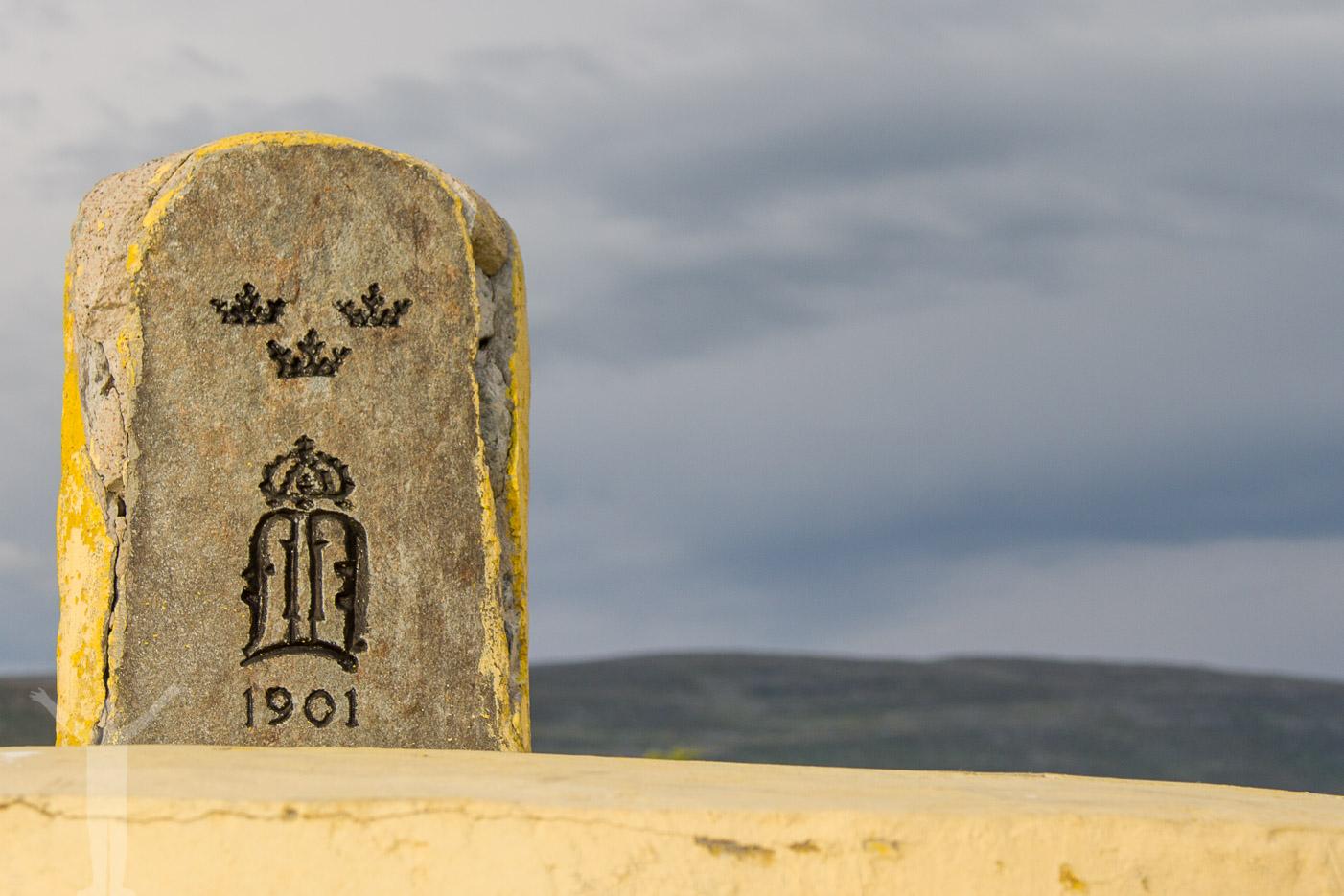 Monumentet vid Treriksröset