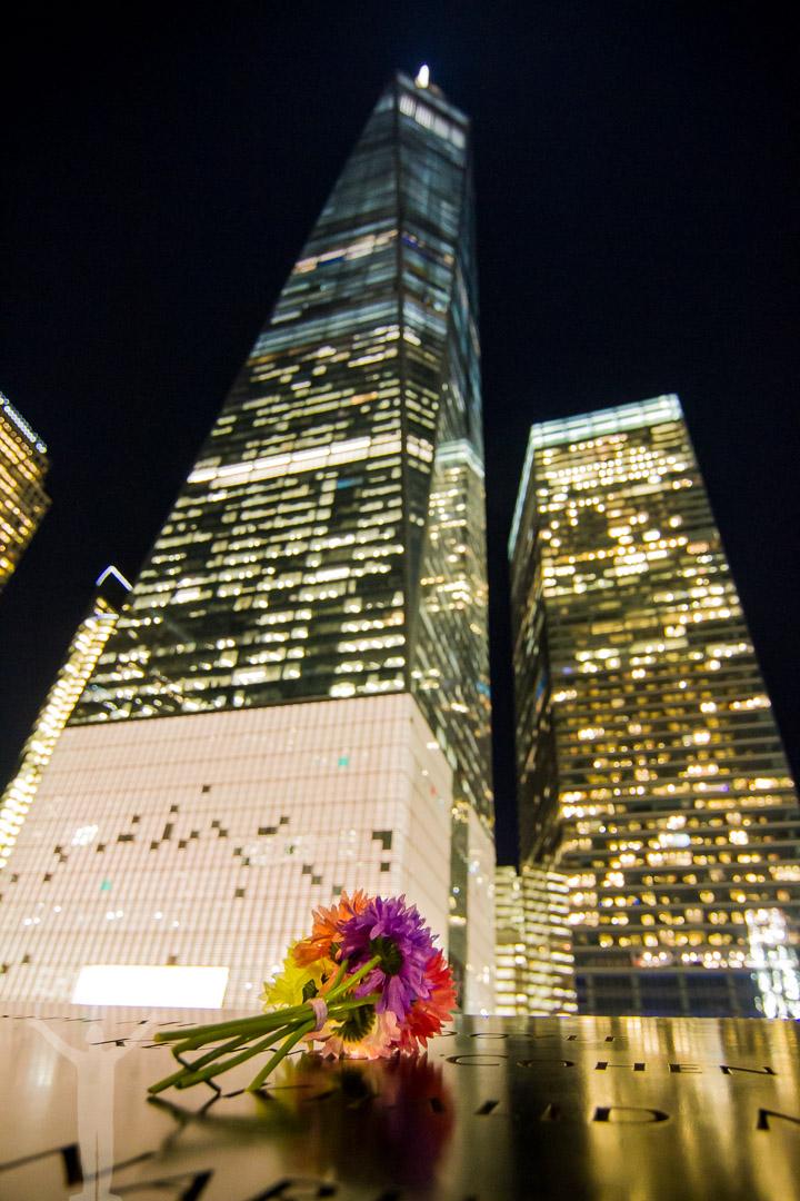 Minnesplatsen vid World Trade Center, New York