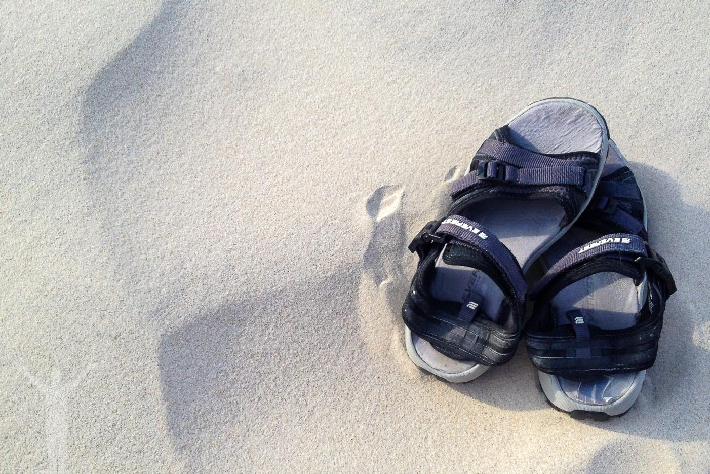 Fin sandstrand i Danmark